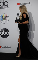 2018 American Music Awards – Photo Room – Los Angeles, California, U.S.