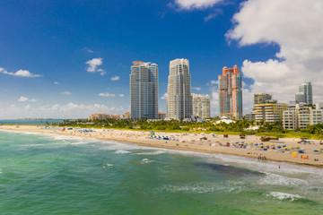 Drone photo Miami Beach