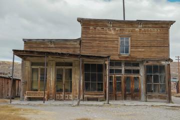 Abandoned Hotel Saloon