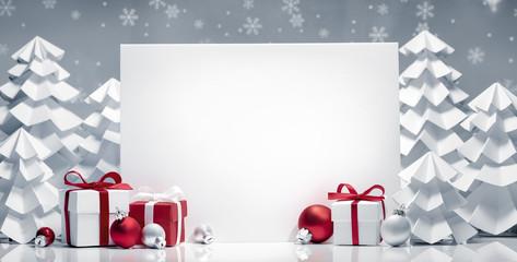 Wall Mural - Christmas decoration