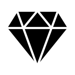 diamond icon. Elements of web icon. Premium quality graphic design icon. Signs and symbols collection icon for websites, web design, mobile app on white background