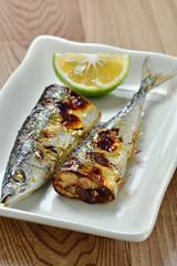 秋の味 秋刀魚