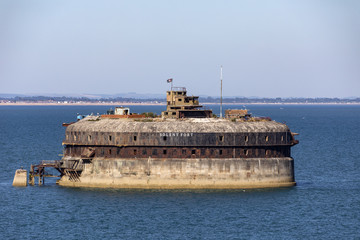 Photo sur Aluminium Fortification Palmerston Forts in the Solent - England