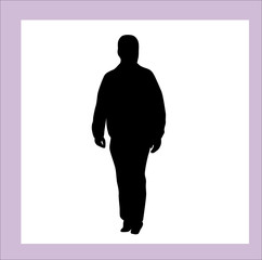 silhouettes of different men and women