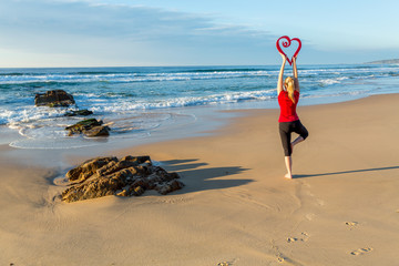 Love Yoga by the sea