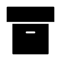 Archive Office Box Business Storage vector icon