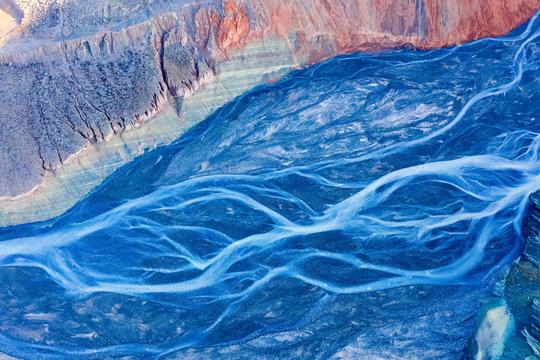 beautiful canyon riverbed