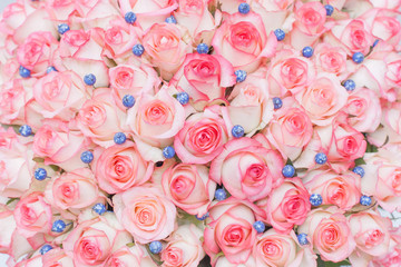 rose, pink, flower, bouquet, roses, love, nature, flowers, floral, wedding, romance, valentine, petal, red, blossom, bunch, beautiful, bloom, gift, white, green, romantic, pattern, flora, decoration