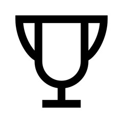 Award Cup Service Best Winner vector icon