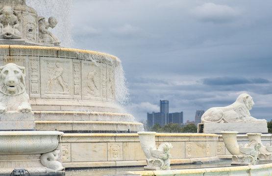 Belle isle fountain Detroit