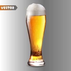 Beer, vector object