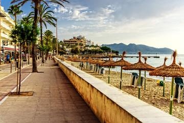 Placa Eureka Cala Millor Strand Promenade