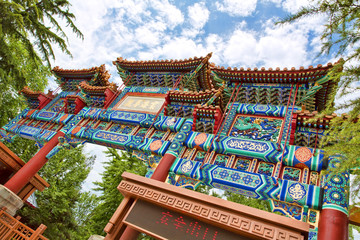 Tibetan temple in Beijing