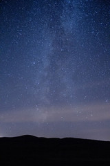 Stars in the sky in Ireland