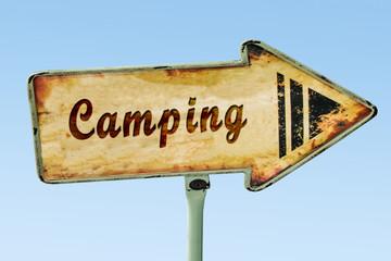 Schild 328 - Camping