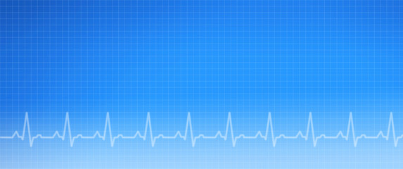 EKG Medical Graph Background
