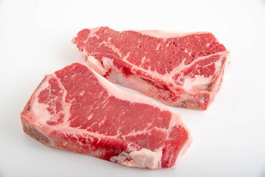 top loin new york strip steak bone in