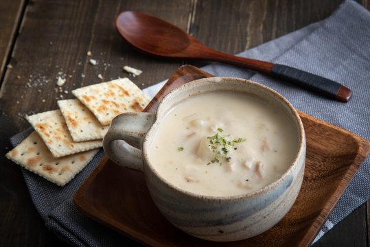 clam chowder image