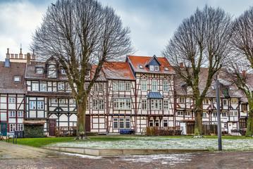 Street in Lemgo, Germany