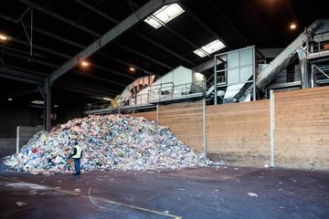 usine de traitement des déchets
