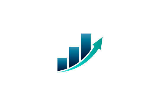Business Finance Bar Profit Vector illustration