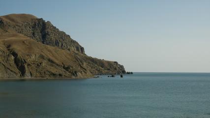 Crimea. Cape Meganom. July 2018