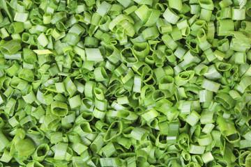 Shredded green onions