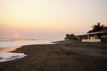 Sunset in Las Penitas