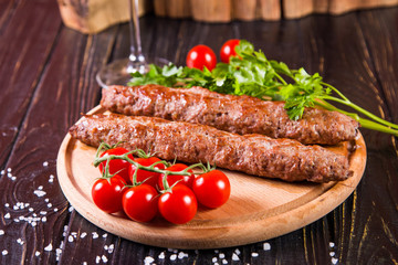 hot fried kebab