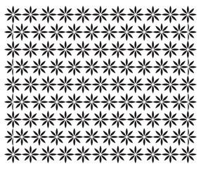 floral pattern, star pattern vector