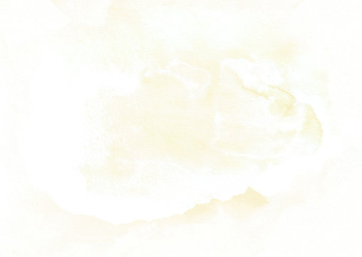 Light vanilla color background. Beautiful abstract watercolor canvas for design, invitations, postcards, text and congratulations