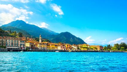 Menaggio town, Como Lake district landscape. Italy, Europe.