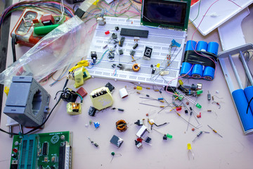 Small electronic parts