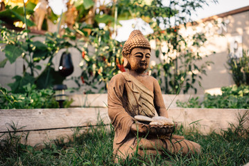 Garden Zen Statue