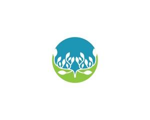 Ecology logo illustration
