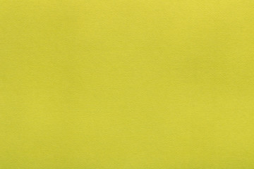 Yellow cardboard texture. Abstract yellow background