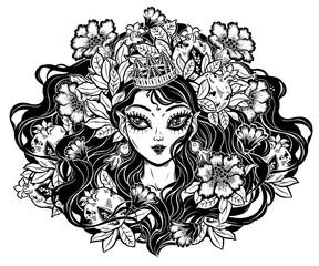 Celtic fairy elf pagan princess.