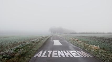 Schild 402 - Altenheim