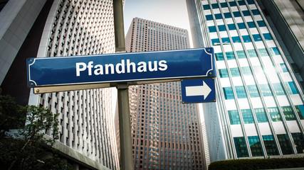 Schild 375 - Pfandhaus