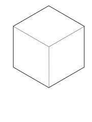 Cube Geometric Pattern