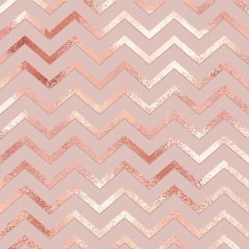 Rose gold. Elegant vector pattern