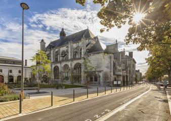 Saint Nicolas church at Troyes, France