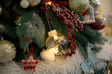 Christmas decoration and toys.