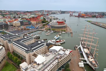 Gothenburg aerial view