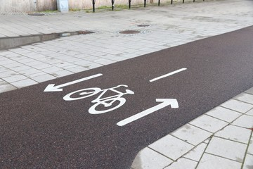 Gothenburg cycling path