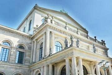 Fotobehang Theater Spätklassizistische Architektur - Opernhaus Hannover