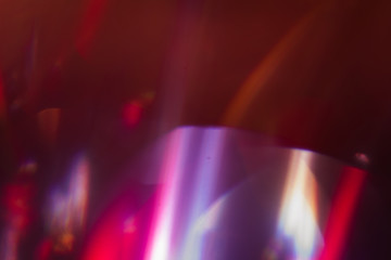 lens flare. blur defocused light flashes background. abstract spotlights.