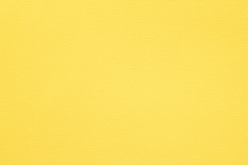 yellow paper texture background. colored cardboard fibers and grain. empty space concept. Wall mural