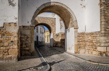 Old town Faro Portugal