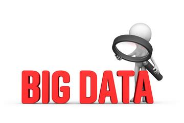 Focused on big data concept